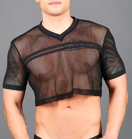 Andrew Christian Club Football Crop Tee (3 colors)