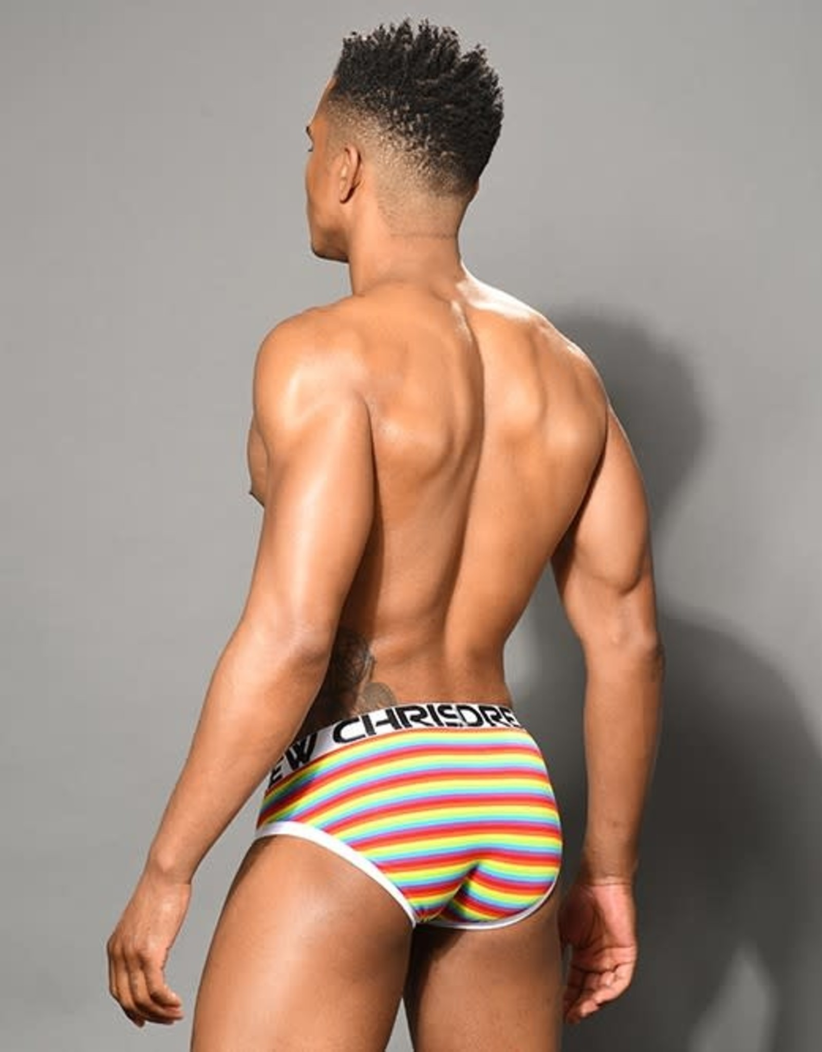 Andrew Christian Pride Stripe Love Brief (in store purchase only)