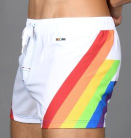 Andrew Christian Rocket Pride Swim Shorts (curbside pick-up only)