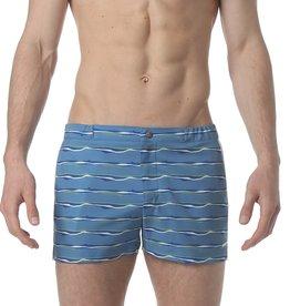 "parke & ronen 2"" Angeleno Stripe  Swim Short (2 colors)"