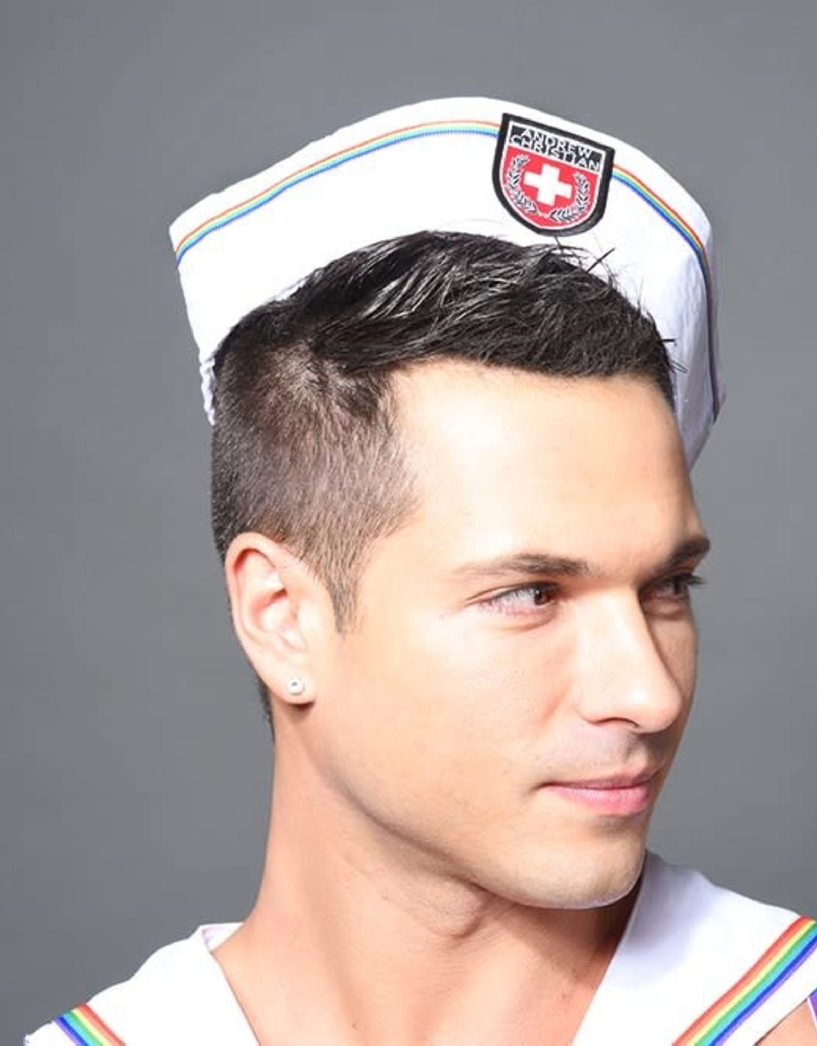 Andrew Christian Pride Sailor Hat