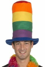 Gay Pride Stovepipe Hat