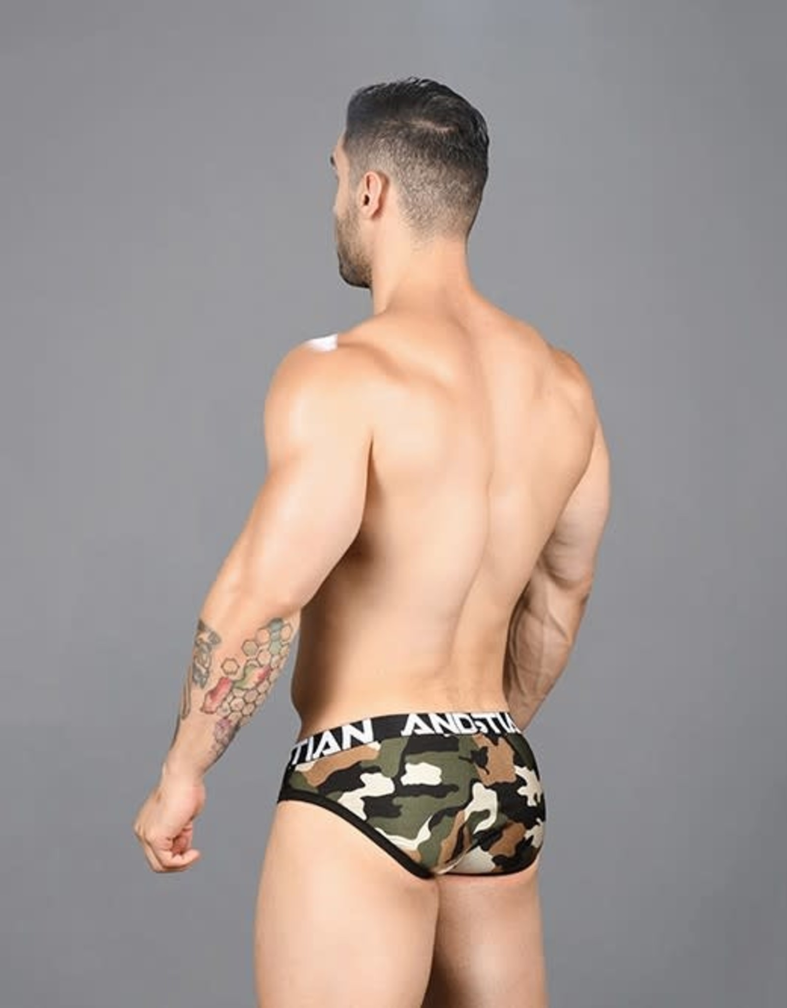 Andrew Christian Camo Brief