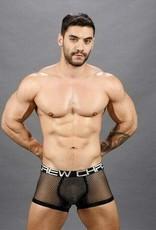 Andrew Christian Sheer Pinstripe Boxer