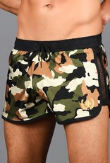 Andrew Christian Camo Commando Swim Shorts (in store purchase only)