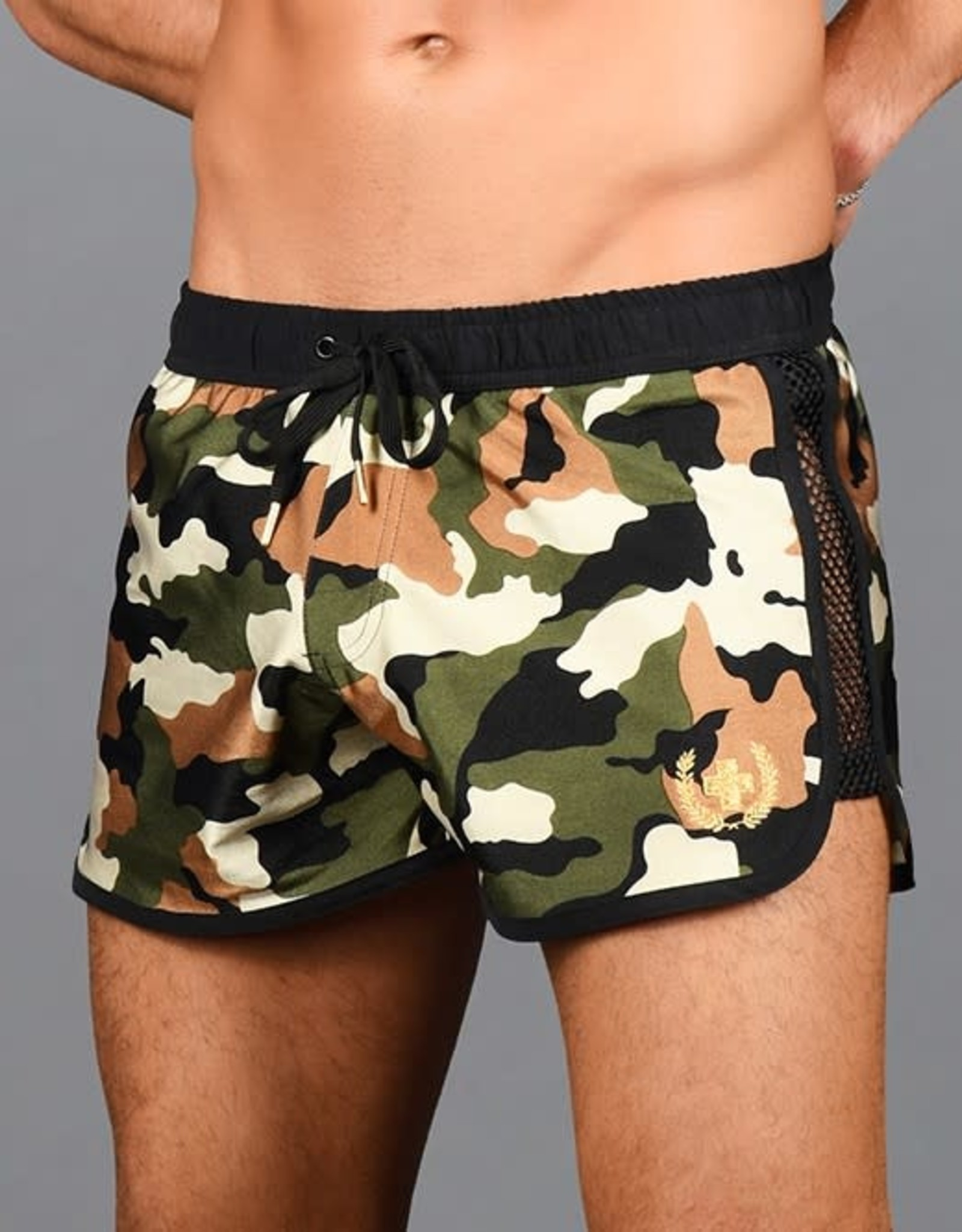 Andrew Christian Camo Commando Swim Shorts
