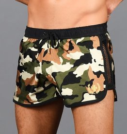 Andrew Christian Camo Commando Swim Shorts (curbside pick-up only)