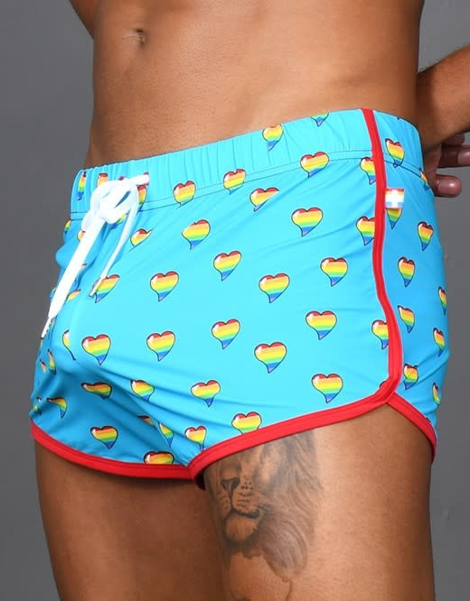 Andrew Christian Love Pride Jogger Short (in store purchase only)