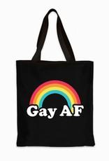 Headline Gay AF Tote Bag