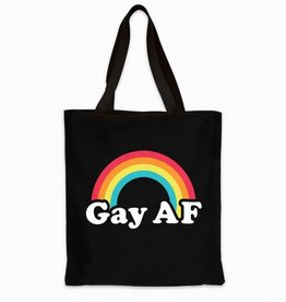 Headline Gay AF Tote Bag