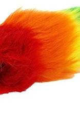 Pride Rainbow Faux Fur Fox Tail