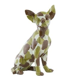 "Interior Illusions 10"" Camo Sitting Chihuahua"