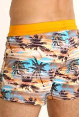 Sauvage Sunset Palms Swim Short