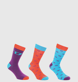 Diesel 3pk Ray Socks (2 colors)