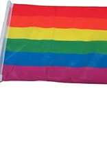 Rainbow Pride Car Flag
