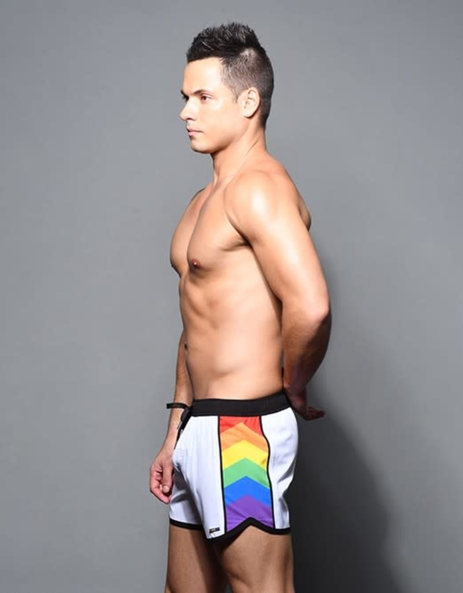 Andrew Christian Pride Active Swim Shorts