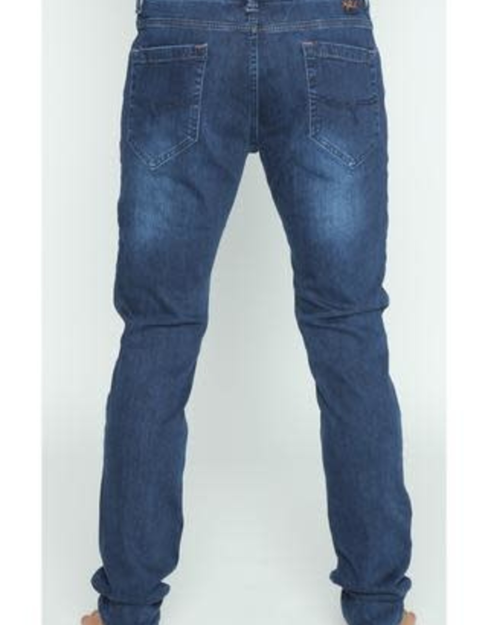 Eight X Dark Stretch Denim w/Fade Jean
