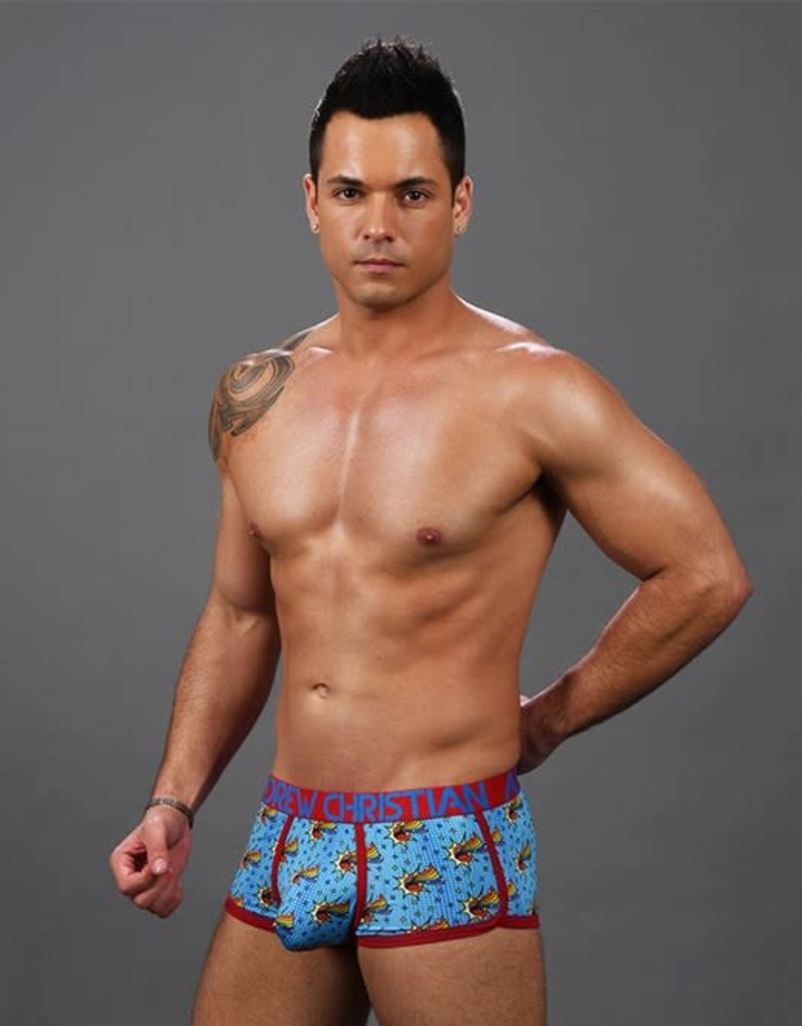 Andrew Christian Out & Proud Rainbow Boxer