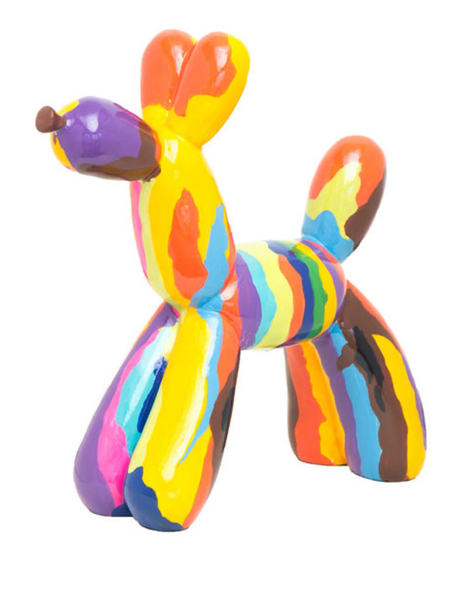 "Interior Illusions 12"" Graffiti Balloon Dog Sculpture"