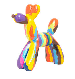 "Interior Illusions 12"" Graffiti Balloon Dog Sculpture"