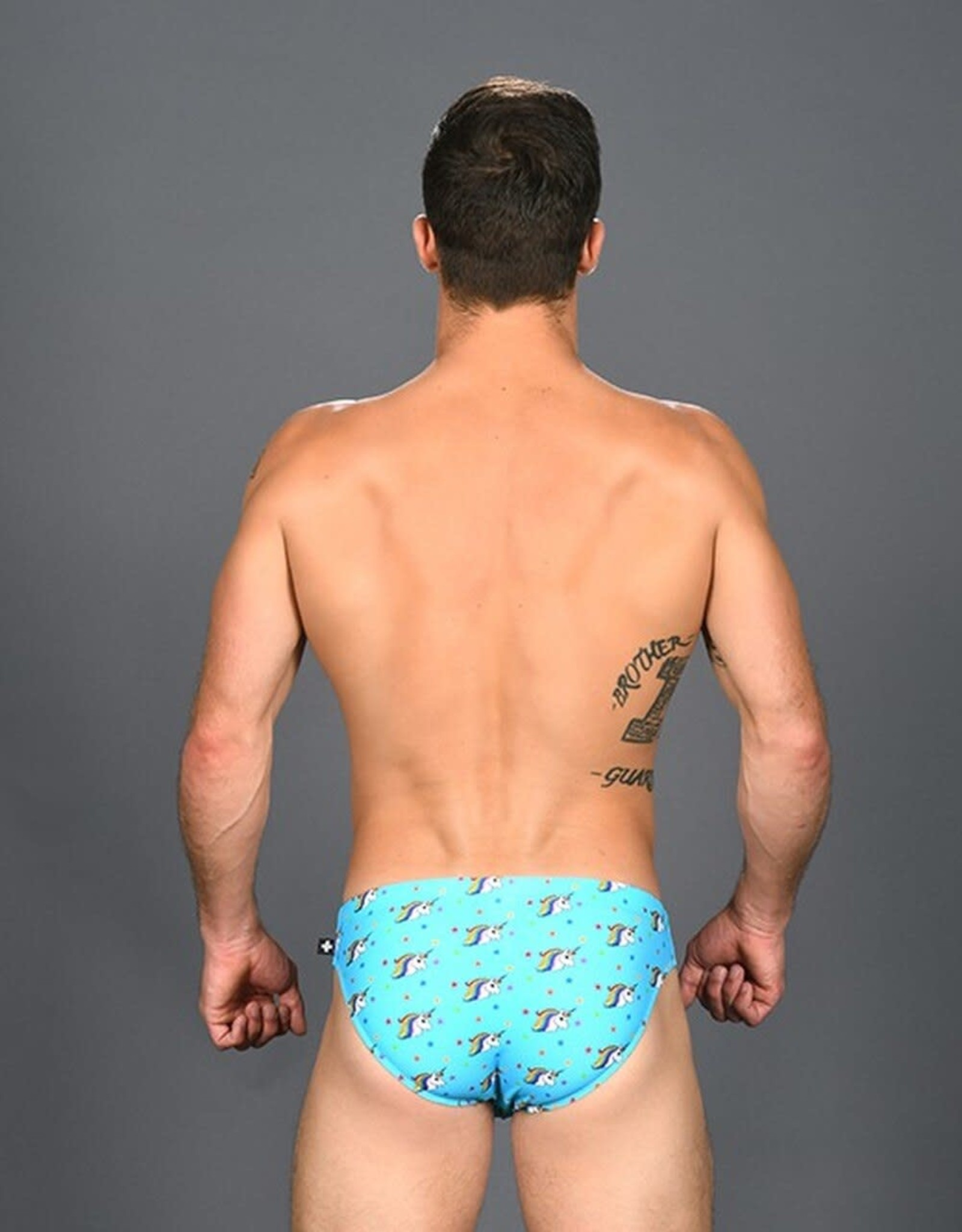Andrew Christian Rainbow Unicorn Bikini