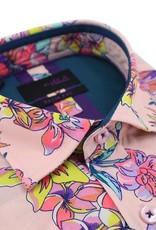 Eight X Pink Bird of Paradise Shirt