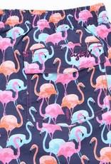 Eight X Navy Flamingo Swim Trunk