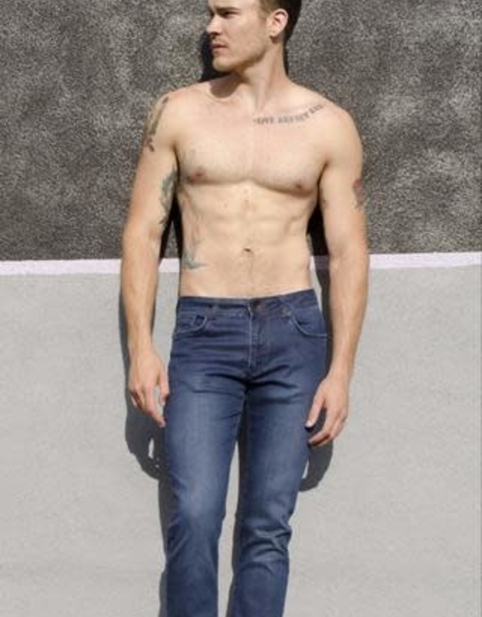 Eight X Dark Blue Slim Fit Jeans