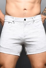 Andrew Christian Skinny Stretch Jean Short