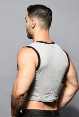 Andrew Christian Blast Burnout Crop Tank (in store purchase only)