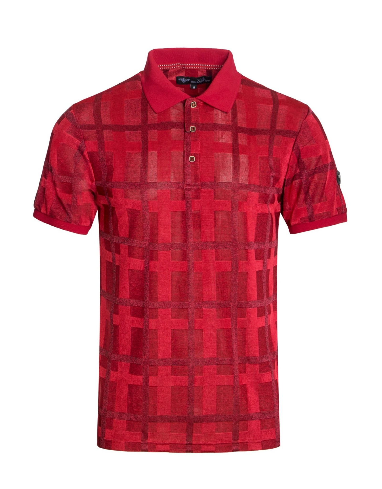 Urban Fitz Window Pain Plaid Polo