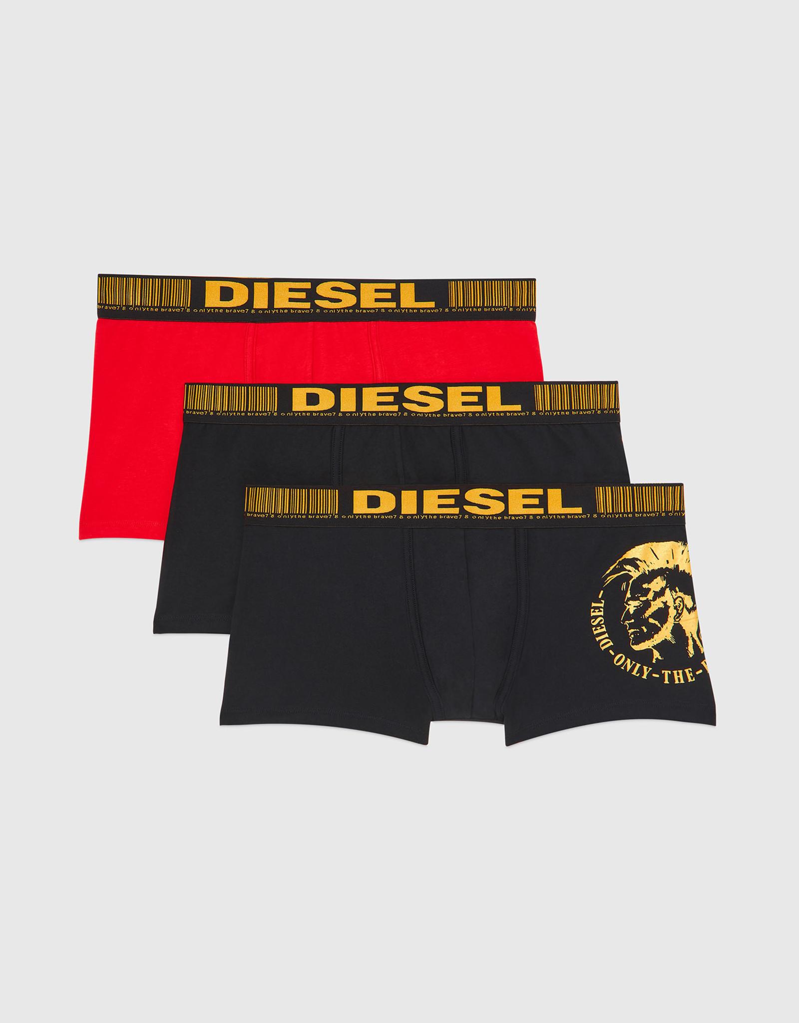 Diesel 3pk Damien  Foil Mohawk Boxer