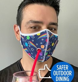 Andrew Christian Outdoor Dining Suck-It Mask