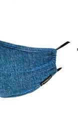 Fydelity Face Covering Blue Jean Denim