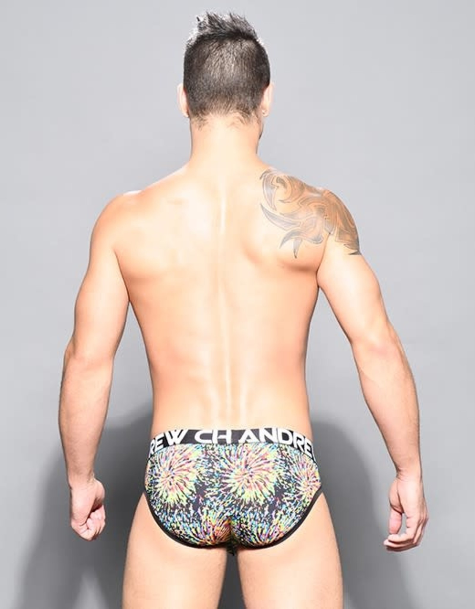 Andrew Christian Kaleidoscope Brief w/Almost Naked