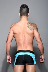 Andrew Christian Phys. Ed. Varsity Zip Trunk (in store purchase only)