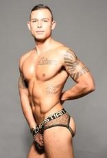 Andrew Christian Sheer Leopard Jock w/Almost Naked