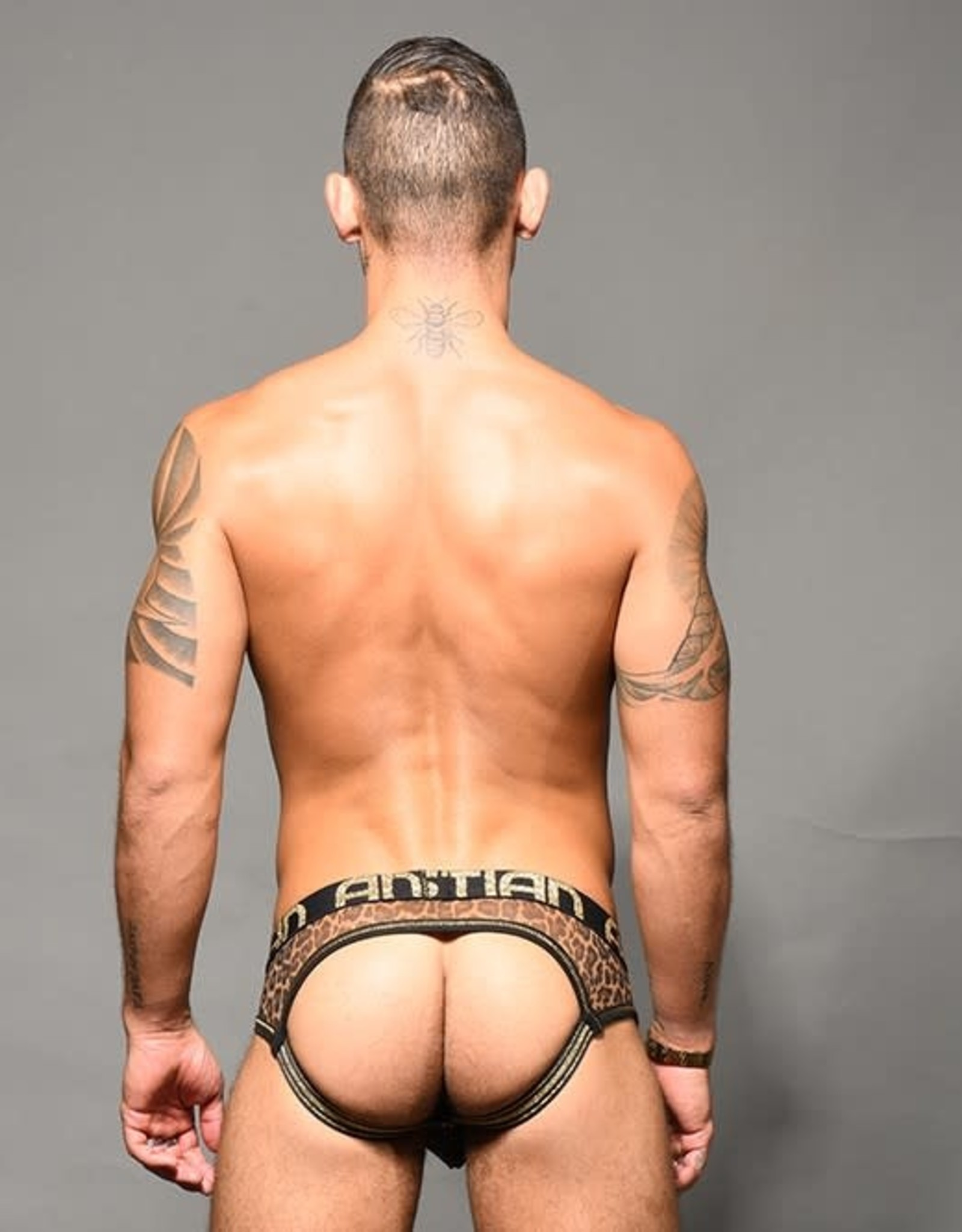 Andrew Christian Sheer Leopard Jock (in store purchase only)