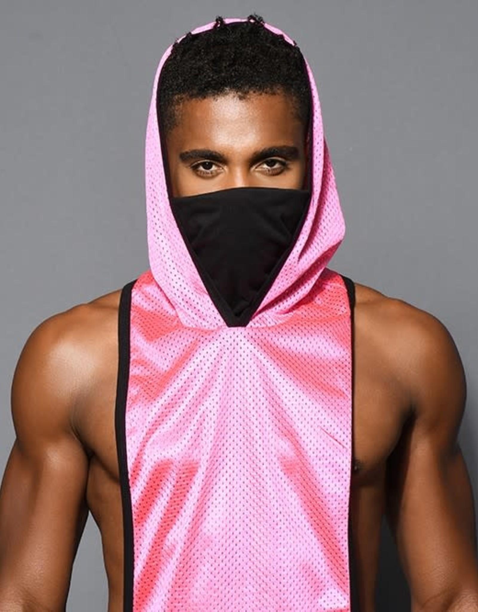 Andrew Christian Mask Gym Mesh Hoodie