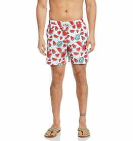 Penguin Watermelon Packable Swim Short