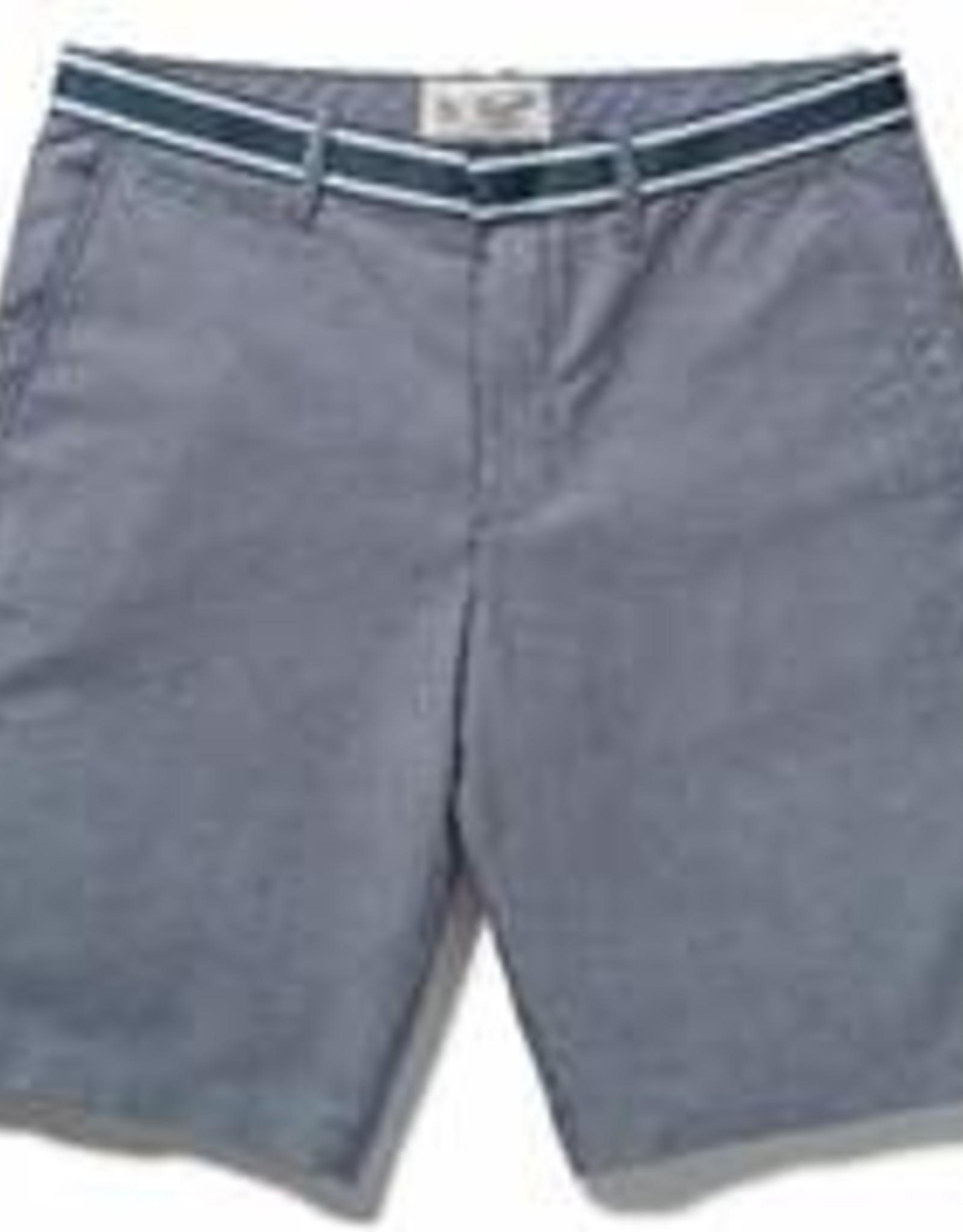 Penguin Grosgrain Trim Oxford Shorts