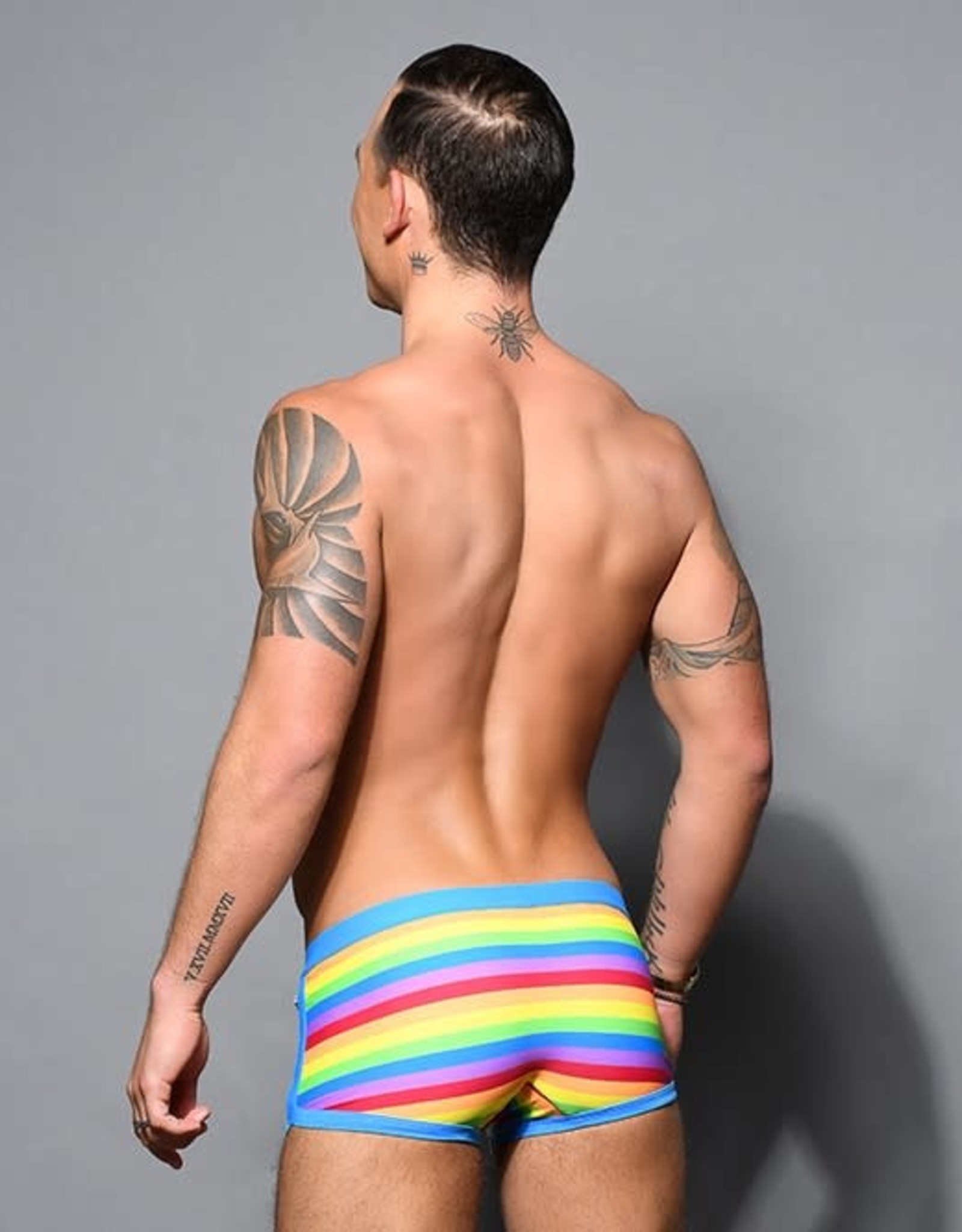 Andrew Christian Pride Strip Trunk (in store purchase only)