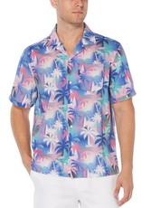 Penguin Palm Tree Camp Shirt