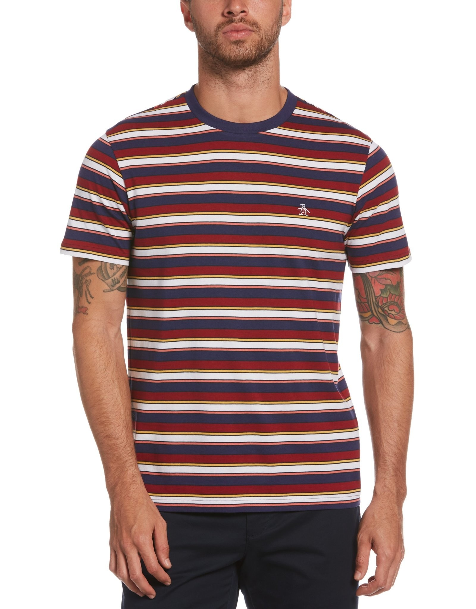 Penguin Multi-Color Stripe T-Shirt