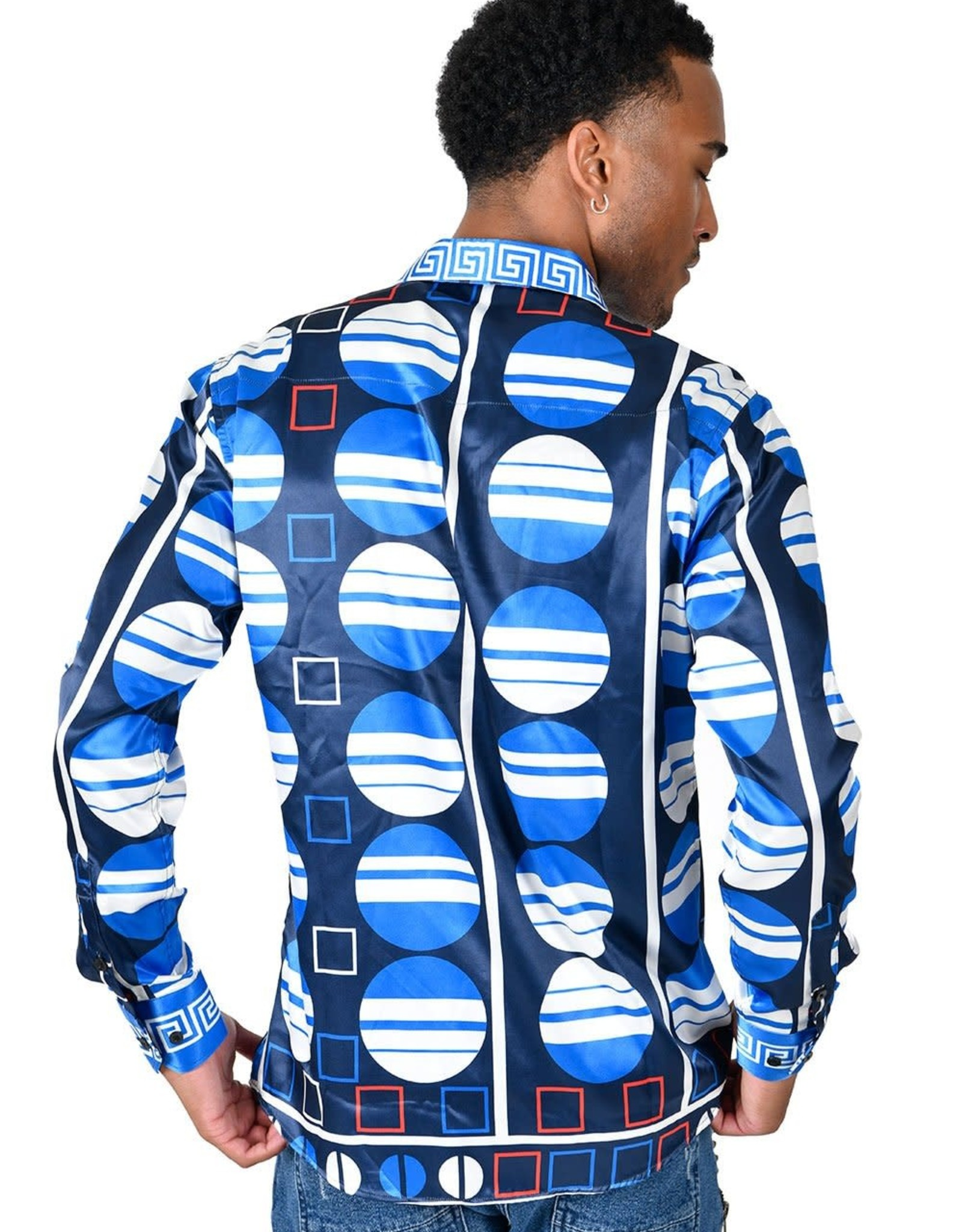 Barabas Vassari Greek Ocean Shirt