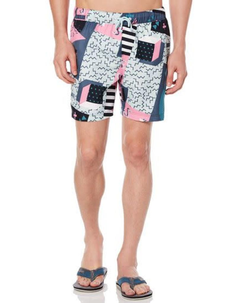 c7651c35ac Penguin The 90's Volley Swim Trunks - Outlines Menswear LLC