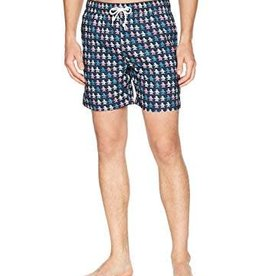 Penguin Print Swim Trunks