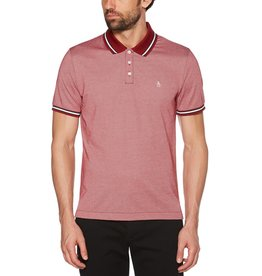 Penguin Penguin Red White Trim Polo Shirt
