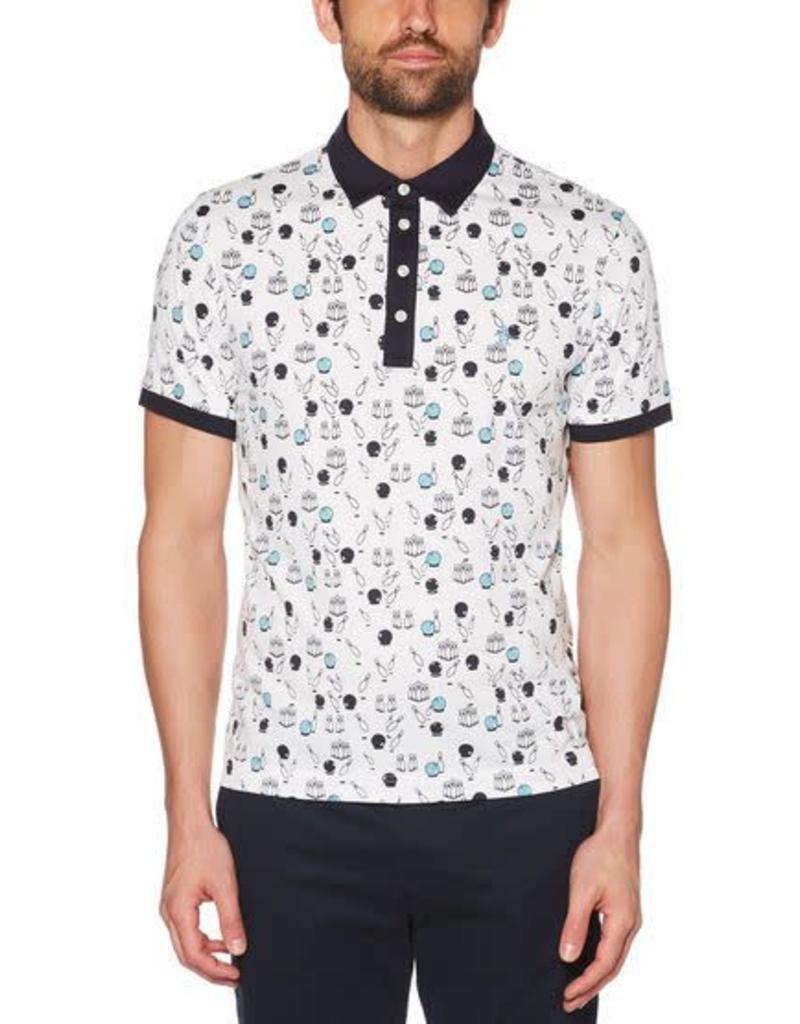 Penguin Penguin Bowling Print Polo Shirt