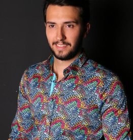 Eight X Eight X Multi Rainbow Long Sleeve Shirt